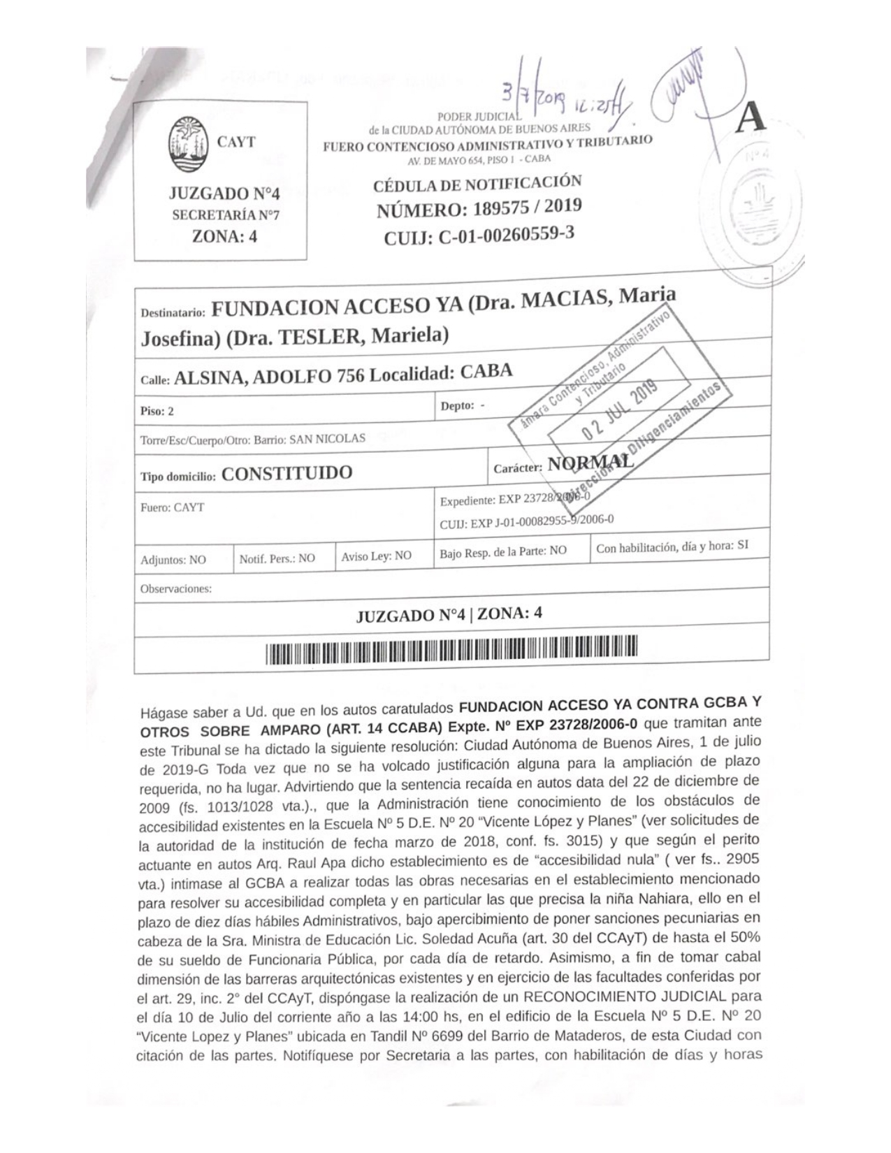 """Escuela N°5 D.E. N°20 """"Vicente López y Planes"""""""