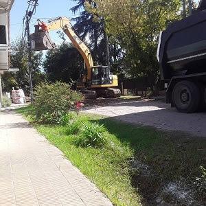 Obras de accesibilidad en Bella Vista